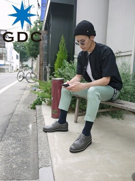 GDC TOKYO|GDCTOKYO -HARAさんの「KANOKO COOLMAX SHIRT(GDC)」を使ったコーディネート