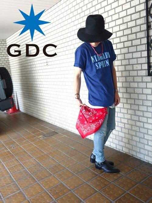 GDCTOKYO -HARAさんの「NIAGARA SPHINX tee(GDC)」を使ったコーディネート