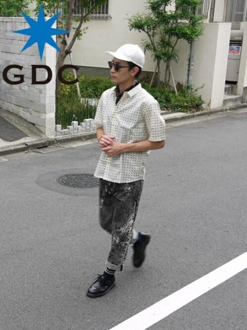 GDCTOKYO -HARAさんの「DOT HS SHIRT(GDC)」を使ったコーディネート