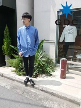 GDC TOKYO|GDCTOKYO -HARAさんの「DRESS LS SHIRT(GDC)」を使ったコーディネート