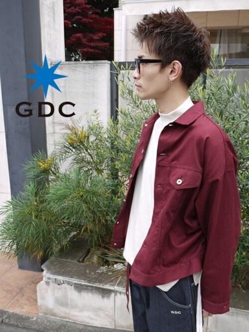 GDCTOKYO -HARAさんの「TWILL WIDE BLOUSON(GDC)」を使ったコーディネート