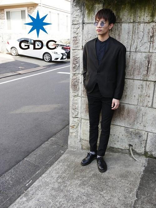 GDCTOKYO -HARAさんの「WOOL LIKE JACKET(GDC)」を使ったコーディネート