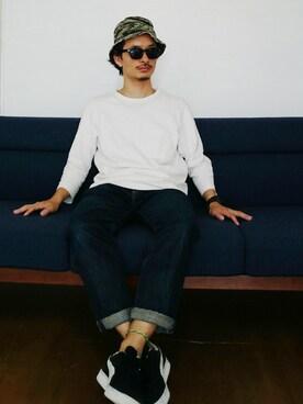 AKIRAKUBOTAさんの(ユニクロ|ユニクロ)を使ったコーディネート