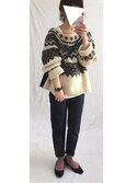 「<6(ROKU)>NORDIC KNIT PULLOVER/ニット◆(BEAUTY&YOUTH UNITED ARROWS)」 using this 虚構さん looks