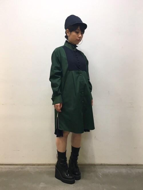 ホリユキノさんの(Sacai)を使ったコーディネート