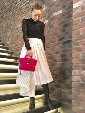 LOVELESS名古屋|yuka nakamuraさんの(3.1 Phillip Lim|スリーワン フィリップ リム)を使ったコーディネート