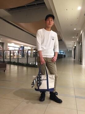 AVIREX ららぽーと横浜|Ryoさんの(AVIREX|アヴィレックス)を使ったコーディネート