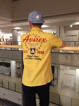 AVIREX ららぽーと横浜 Ryoさんの(AVIREX アヴィレックス)を使ったコーディネート