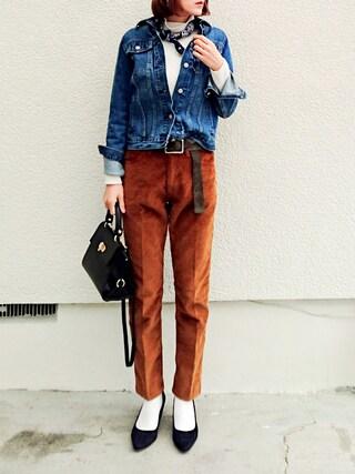 mikiさんの「<Levi's(R) Vintage Clothing > 519 コーデュロイパンツ(UNITED ARROWS|ユナイテッドアローズ)」を使ったコーディネート