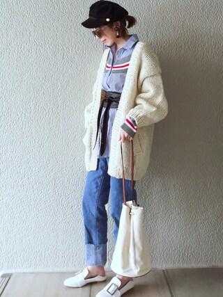 「マリンキャップ(EVRIS)」 using this MISATO  looks
