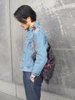 「LEVIS VINTAGE CLOTHING / もらいもの(LEVI'S VINTAGE CLOTHING)」 using this 45R ルクアイーレ店|93 looks