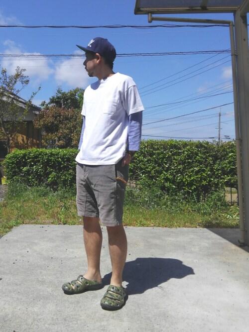 23度 服装 メンズコーデ ニット・カットソー・スウェットウェア 画像3