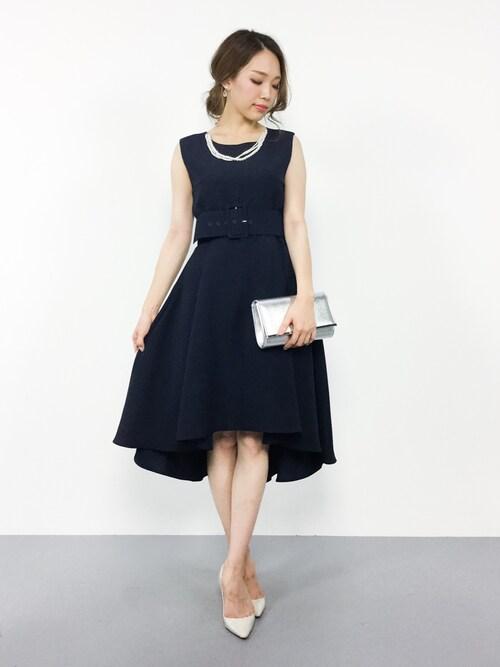 20代ゲストドレス