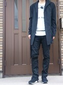 「TROPICAL STRETCH HALF STAND BZ(ato)」 using this こう looks