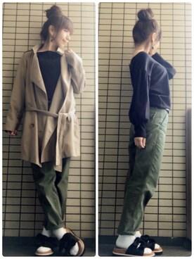 まいまいさんの(natural couture|ナチュラルクチュール)を使ったコーディネート