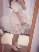 fuyuさんの「〔himitsu〕フリルピローバッグ(LOLITA)(RoseMarie seoir|ローズマリーソワール)」を使ったコーディネート