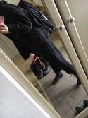 ナナカさんの「フェイクムートンボンバージャケット(MURUA|ムルーア)」を使ったコーディネート
