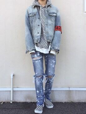 Яөіяaさんの(424 CLOTHING|フォートゥーフォー クロージング)を使ったコーディネート