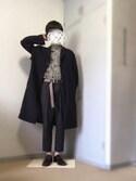 おおぞら👐🏻さんの「ZOZOTOWN人気シューズランキング掲載 ! ドレスからカジュアルまで使えるウイングチップシューズ!LASSU&FRISS802(LASSU&FRISS|ラスアンドフリス)」を使ったコーディネート