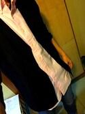 たまるさんの「MEN エクストラファインメリノVネックカーディガン(長袖)(ユニクロ|ユニクロ)」を使ったコーディネート