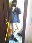 shootaさんの「WOMEN ソフトジャージージャケット(ユニクロ|ユニクロ)」を使ったコーディネート
