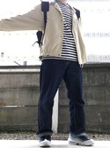 ウエノさんの(Yves Saint Laurent ジーユー)を使ったコーディネート