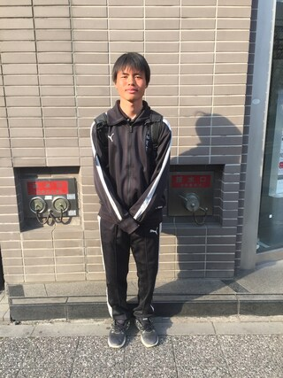 (PUMA) using this 長井良澄 looks