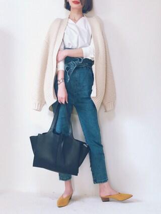 TOMOKA  さんの「トートバッグ【PLAIN CLOTHING】(PLAIN CLOTHING|プレーンクロージング)」を使ったコーディネート