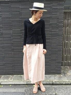 FRAMeWORK 京都店|FRAMeWORK tomomiさんのコーディネート