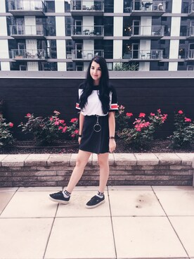「ASOS T-Shirt in Retro Color Block(asos)」 using this Julia  looks