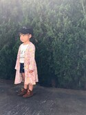 Nozomiさんの「MINNETONKA CLASSIC FRINGE BOOT(Minnetonka)」を使ったコーディネート
