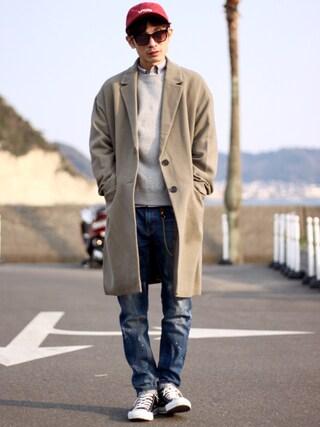 yuumaさんの「Leyline oxford shirts(Leyline レイライン)」を使ったコーディネート