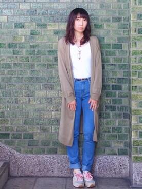 Chieko Langさんの(JINS|ジンズ)を使ったコーディネート
