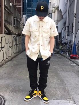 AVIREX 渋谷|MASAYAさんの(AVIREX|アヴィレックス)を使ったコーディネート