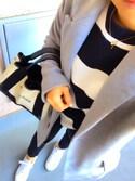 「Balenciaga Cabas S leather-trimmed cotton-canvas tote(Balenciaga)」 using this yacci looks