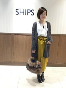 SHIPS 藤井大丸御旅店|土倉さんのコーディネート