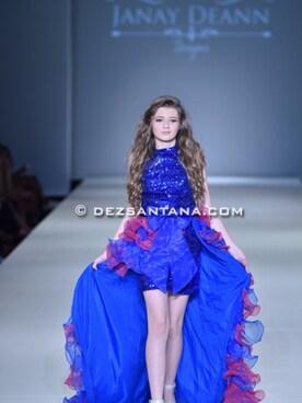 ElizabethModel Dress「Janay Deann Designs 」Styling looks