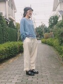「Dr. Martens Double-Strap Mary Jane(Dr. Martens)」 using this mogu looks