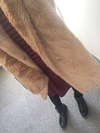 近藤千尋さんの「BACK RIBBON DRESS(MILKFED.|ミルクフェド)」を使ったコーディネート