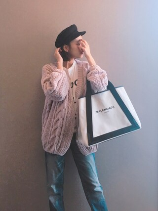 「STANDARD CASQUETTE(MOUSSY)」 using this 近藤千尋 looks