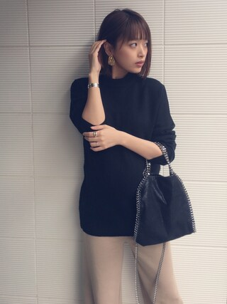 「<STELLA McCARTNEY (ステラ マッカートニー)> FARA MINI ショルダーBAG(UNITED ARROWS)」 using this 近藤千尋 looks