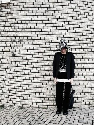 りゅうさんの「【ONLINE限定】2B JKT(LAD MUSICIAN|ラッドミュージシャン)」を使ったコーディネート