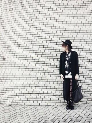 りゅうさんの「【men's FUDGE 11月号 掲載アイテム】 TAILORED JK ■(SHAREEF|シャリーフ)」を使ったコーディネート