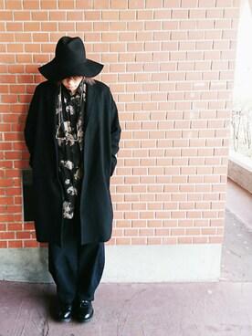 りゅうさんの「LAD MUSICIAN[ラッドミュージシャン] RIDERS JACKET(LAD MUSICIAN|ラッドミュージシャン)」を使ったコーディネート