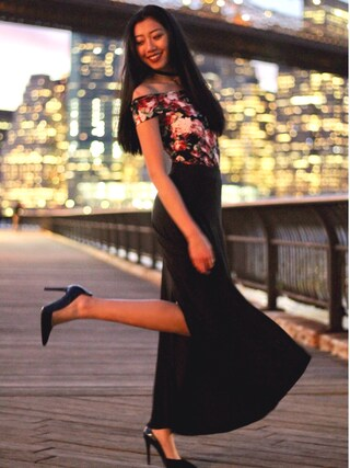 「FOREVER 21 Classic Maxi Skirt(Forever 21)」 using this Meghan looks