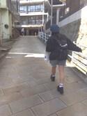優美さんの「インディゴデニムフレアスカート(w closet ダブルクローゼット)」を使ったコーディネート