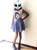 「Dr. Martens Jadon 8-Eye Boot(Dr. Martens)」 using this Juliana Ruiz looks