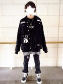 「Rick Owens Panelled Leather High-Top Sneakers(Rick Owens)」 using this RX-78-2 looks