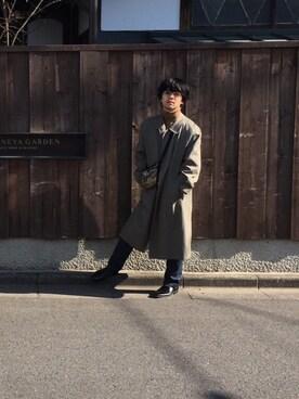 鈴木 惇平さんの(A.P.C.|アー・ペー・セー)を使ったコーディネート