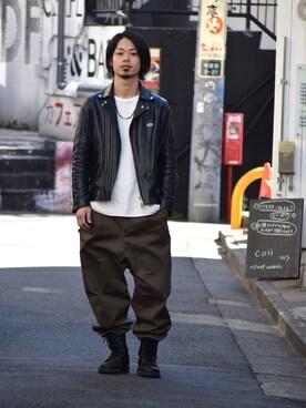 VIZ STORE-TOKYO|NISHIDA.Yさんの(VIRGO|ヴァルゴ)を使ったコーディネート